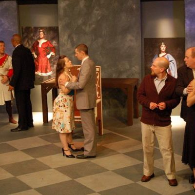 HENRY IV at Halcyon Theatre. photo by Tom McGrath