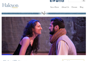 Halcyon Theatre Website