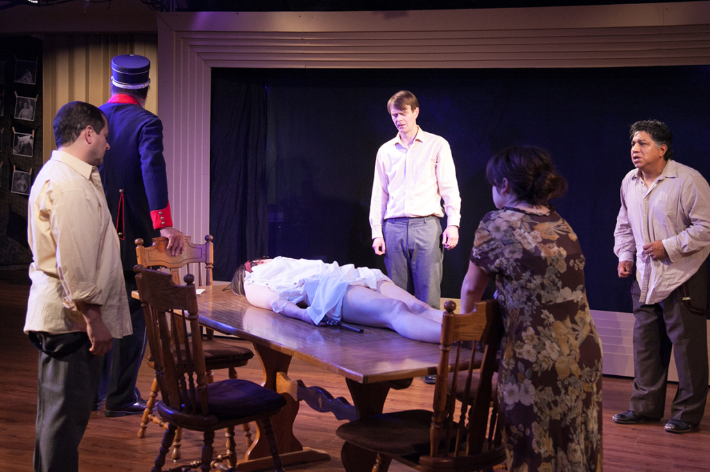 The Wild Duck at Halcyon Theatre. photo by Johnny Knight